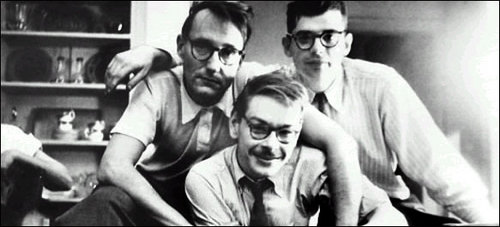William S. Burroughs, Lucien Carr & Allen Ginsburg