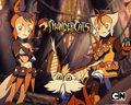 WilyKit and WilyKat Wallpaper - thundercats-2011 wallpaper