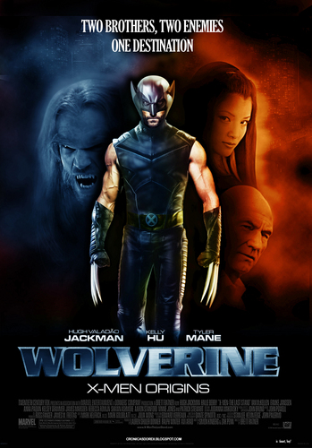 films achtergrond with anime called Wolverine origins 2