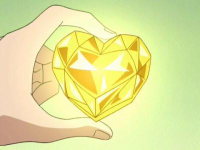 Yellow сердце