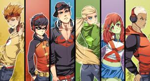 Young Justice wallpaper containing Anime titled Young Justice is Styleish!