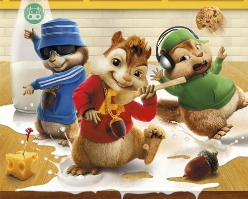Alvin and the Chipmunks wallpaper entitled alvin and the chipmunks