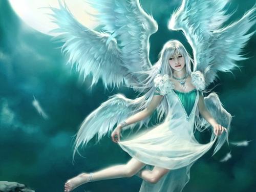 Angels پیپر وال entitled Serenity
