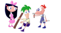 baby phineas ferb and isabella - phineas-and-ferb photo