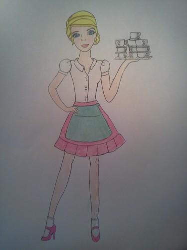 barbie princess charm shool blair