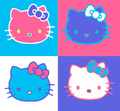 different hello kitty