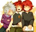 fuusuke, haruya and hiroto