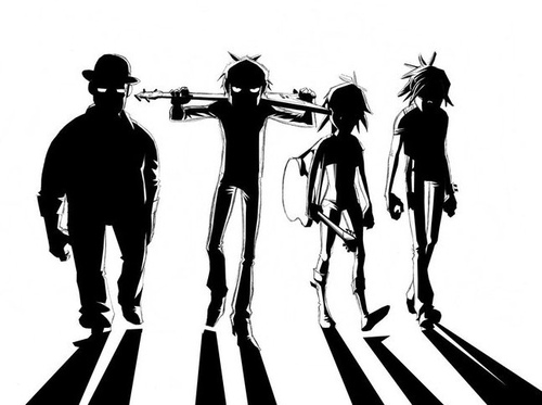 Gorillaz shadow >:D