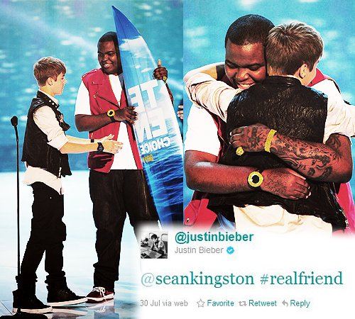 justin bieber & sean kingston