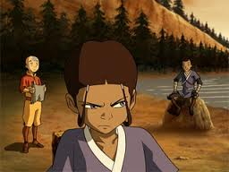 katara,aang and sokka
