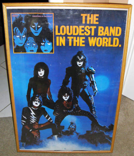 kiss poster 1982