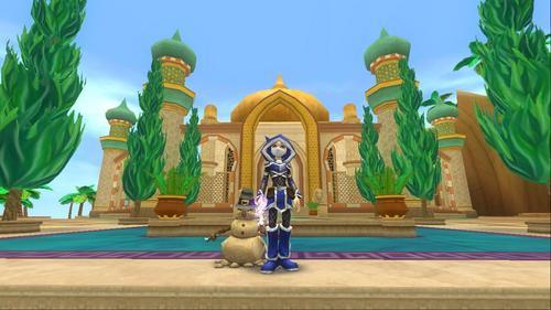 me with Queen luna