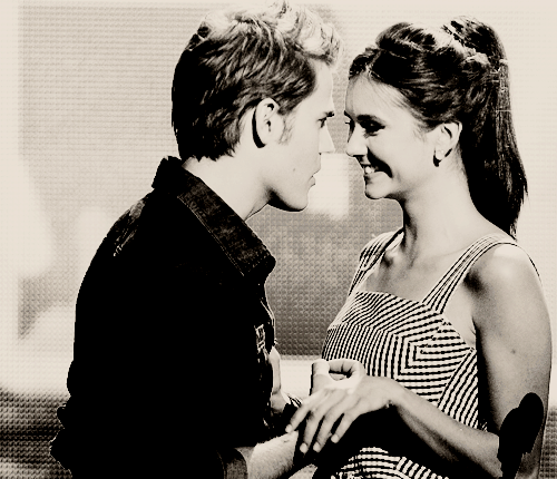 nina/paul; - paul-wesley-and-nina-dobrev Fan Art