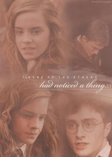 only hermione notices