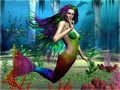 rainbow - mermaids wallpaper