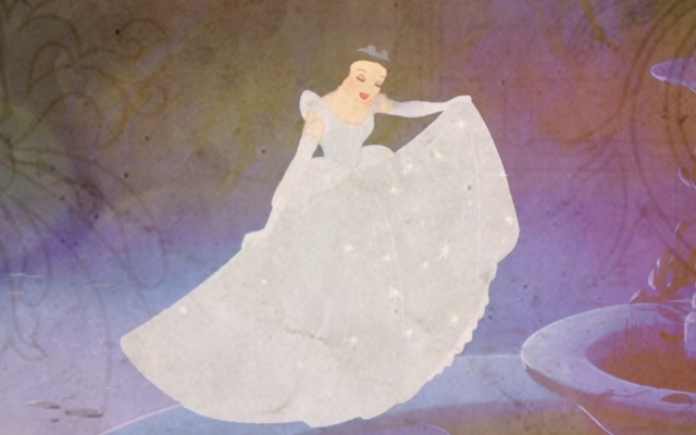 snow white as cinderella