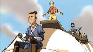 sokka,aang and katara