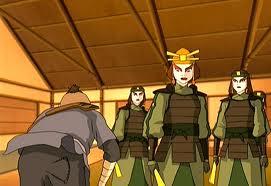 sokka and the kyoshi warriors