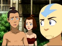sokka,suki and aang