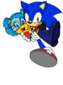 sonic and cece - cece-the-hedgehog photo