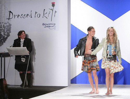 """""""Dressed To Kilt"""" And Friends Of Scotland Charity Fashion Show. [March 30, 2009]"""