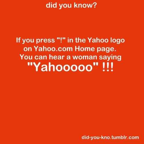"""!"" in Yahoo!"