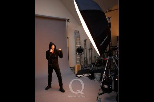 2009 Q cover shoot - u2 Photo
