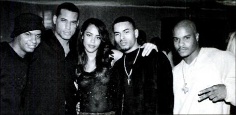 Aaliyah at Virgin Urban Night 2000