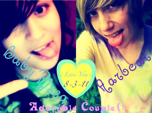 Adorable Couple'<3