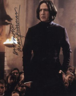 Alan/Severus' signed 照片