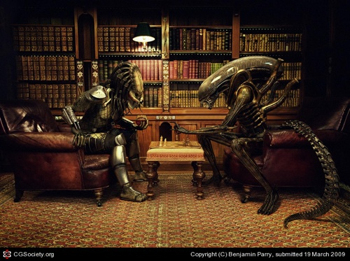 Alien vs Predator in Chess