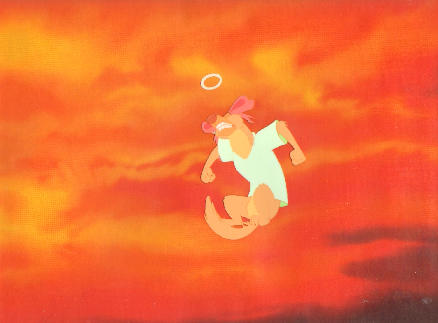 All Dogs Go To Heaven Production Cel