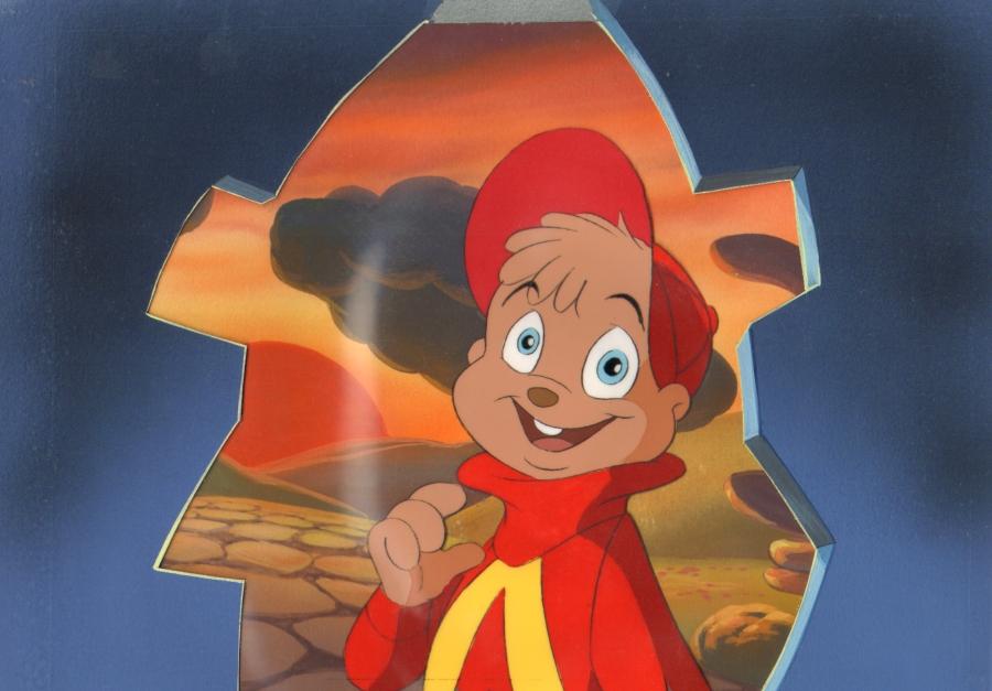 Alvin & The Chipmunks Production Cel