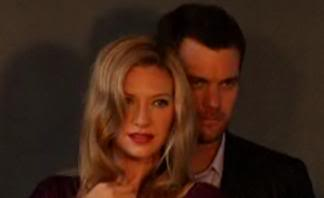 Anna Torv and Joshua Jackson wallpaper containing a portrait entitled Anna and Josh photoshoot