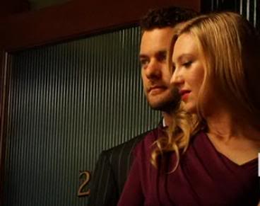 Anna Torv and Joshua Jackson wallpaper probably containing a portrait titled Anna and Josh photoshoot