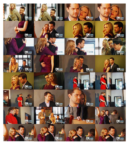 Anna Torv and Joshua Jackson fondo de pantalla entitled Anna and Josh photoshoot