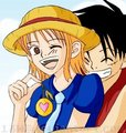 Another Luffy x Nami - luffyxnami screencap