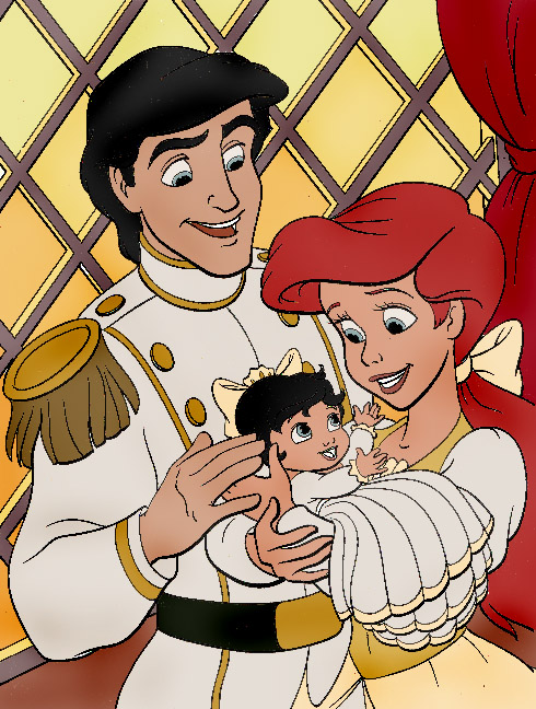 Ariel, Melody and Eric