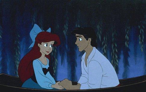 Ariel and Eric वॉलपेपर titled Ariel and Eric