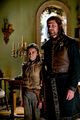 Arya and Eddard Stark