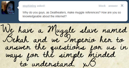 Ask a Death Eater