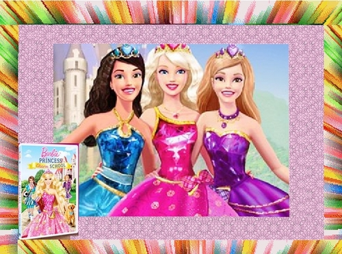búp bê barbie Princess Charm School