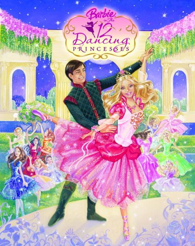 Barbie in the 12 Dancing Princesses Picture Book Cover