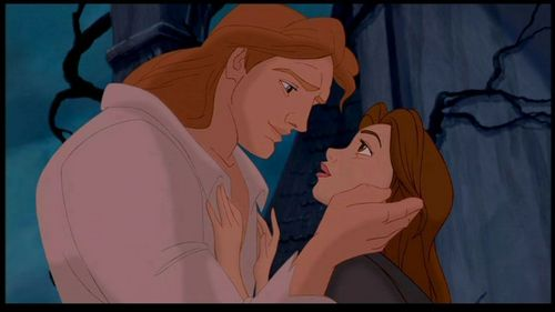 Walt 디즈니 Screencaps - Prince Adam & Princess Belle