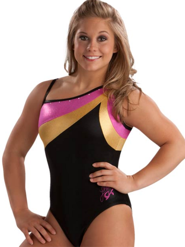 Berry, Gold &amp; Black Shawn Leotard - shawn-johnson Photo