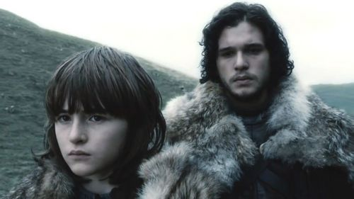 Bran Stark and Jon Snow