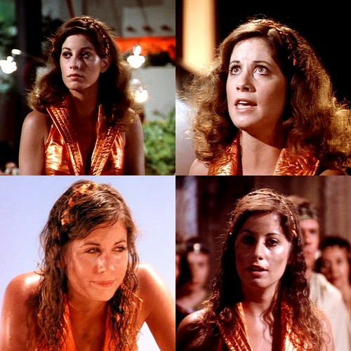 Brianne Leary as Ryma on Buck Rogers