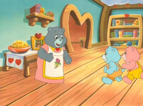 Care Bears animación Production Cel