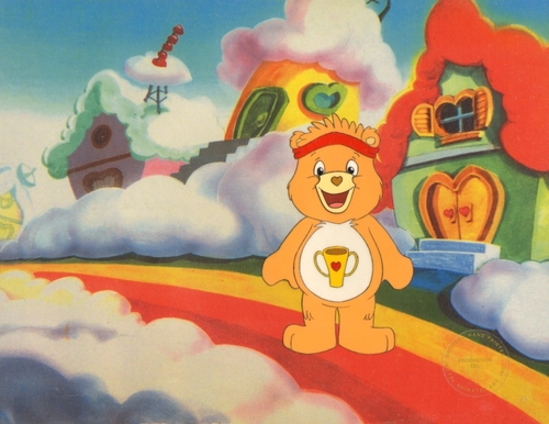 Care Bears wallpaper containing anime entitled Care Bears Animation Production Cel