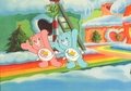 Care Bears 动画片 Production Cel